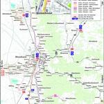 Liniennetzplan Stadtwerke Weinheim