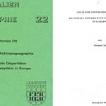 GIS in der Anthropogeographie: Regionale Disparitäten und Städtesystem in Europa (Diplomarbeit)